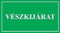 É.72 VÉSZKIJÁRAT