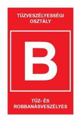 """TV.2 """"B"""" TŰZVESZÉLYESÉGI OSZTÁLY"""