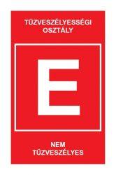 """TV.5 """"E"""" TŰZVESZÉLYESÉGI OSZTÁLY"""