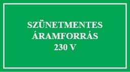 É.54 Szünetmentes árramforrás 230V