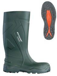 Dunlop Purofort High Grip PVC Védőcsizma D9536-47